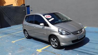 Honda Fit Lx 1.4 Flex + Couro Único Dono 2008 $ 23900 Financ