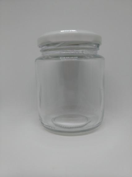24 Potes De Vidro Belém 240ml Para Bolo E Geleia Com Tampa