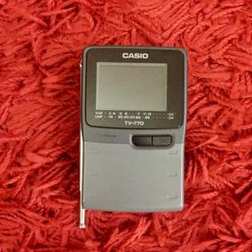 Mini Tv Portatil Casio 770- Funcionando
