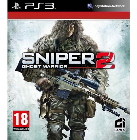 Sniper Ghost Warrior 2 Ps3 Psn Original Promoçã Jogos Play 3