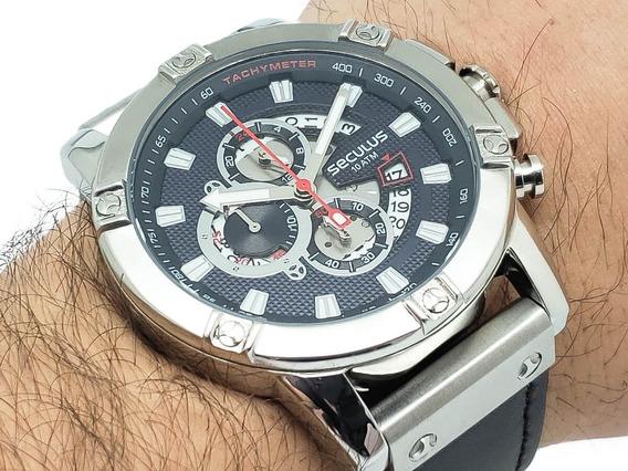 Relógio Masculino Seculus 23683g0svnc2 Garantia 2 Anos