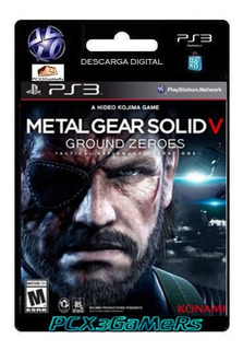 Ps3 Metal Gear Solid V Ground Zeroes Pcx3gamers