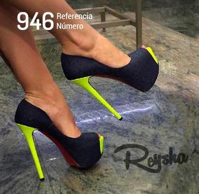 Sandálias Salto Alto Estilo Importado Ref: 946