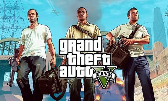 Gran Theft Auto Gta V 5xbox One Midia Digital Online Offline