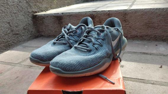 Zapatillas Nike Flex Supreme Tr 6 Gris 36 1/2 .