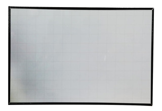 Tablero Acrílico Borrable 120x80cm Grande Con Cuadricula