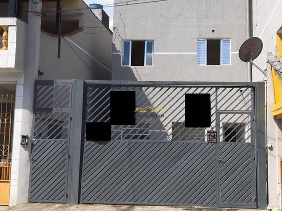 Apartamento Com 2 Dormitórios Para Alugar, 50 M² Por R$ 600,00/mês - Parque Continental Ii - Guarulhos/sp - Ap0810