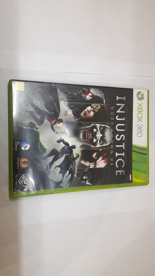 Original Xbox 360 Injustice Gods Among Us Midia Fisica