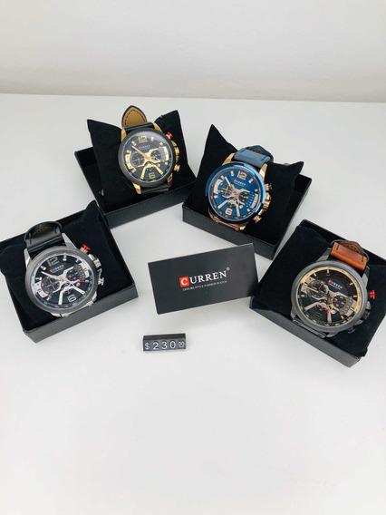 Novo Relógio Curren Original Garantia
