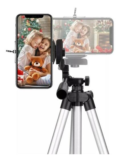 Tripé Telescópio Para Celular E Câmeras Fotografia