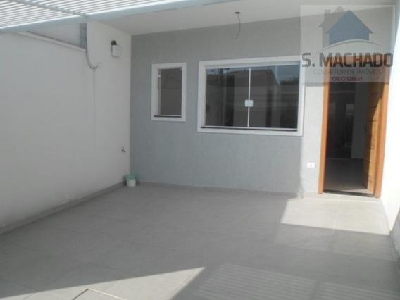 Sobrado Para Venda Em Santo André, Parque Das Nações, 2 Dormitórios, 1 Suíte, 2 Banheiros, 2 Vagas - Ve1452