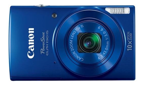 Canon PowerShot ELPH 190 IS compacta azul