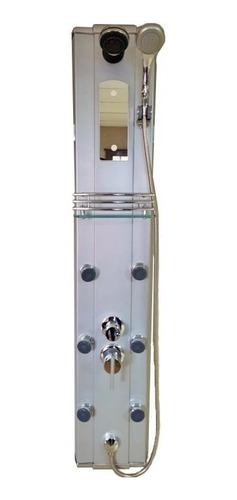 Imagen 1 de 5 de Columna De Ducha Escocesa 6 Jets Aluminio C/duchador De Mano