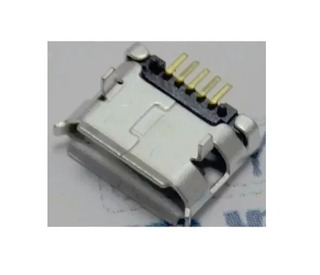 Conector Carga Micro Usb V8-5 Pinos Cel. Tabl. /26 - 10 Pçs