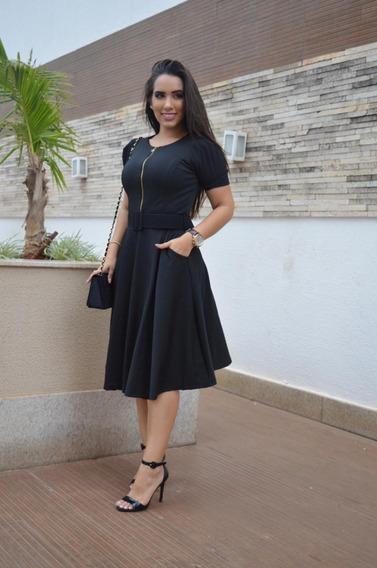Vestido Midi Mulher Virtuosa