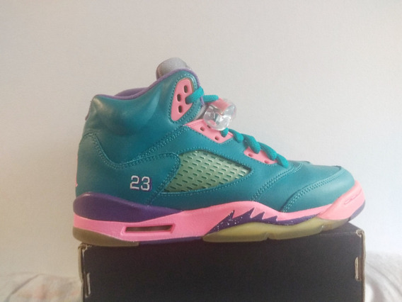 Air Jordan 5 Retro 5 Tropical 23.5 Cm