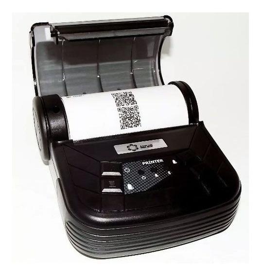 Mini Impressora Térmica Lt-667 80mm Com Bluetooth