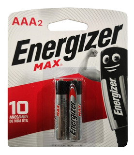 Pilas Alkalina Aaa Energizer Max Uso Diario Alcalina