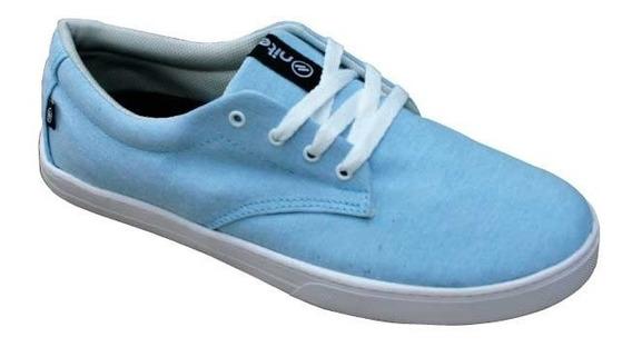 Zapatillas Nite Shoes En Lona Modelo Shyll Vegana
