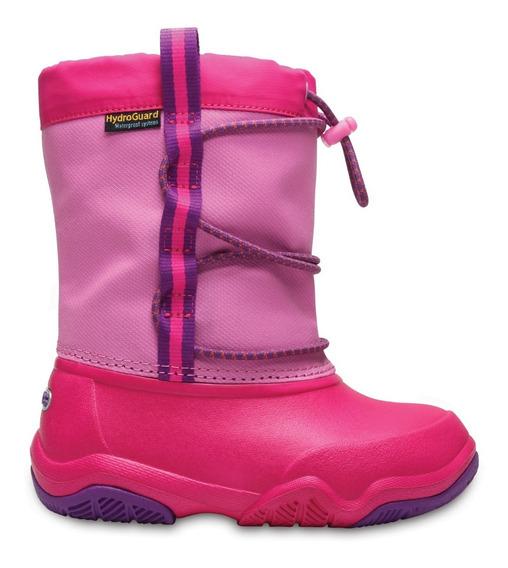 Bota Crocs Waterproof - Niños 204657-6la