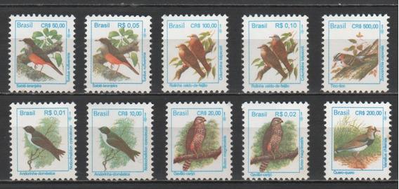 Pássaros Brasileiros Coleção De Selos - 8127