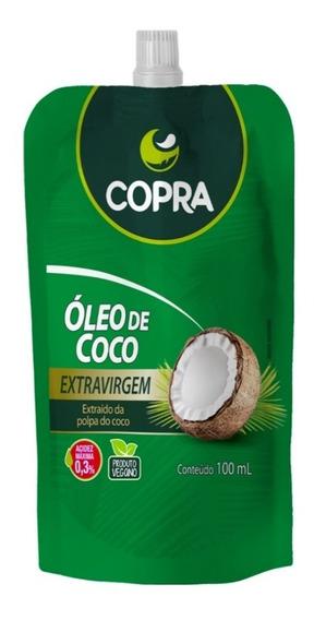 Óleo De Coco Copra Pouch Extra Virgem Com Bico Dosador 100ml