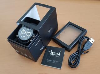 Reloj Cámara Espía,video, Voz Y Foto, Tech Original