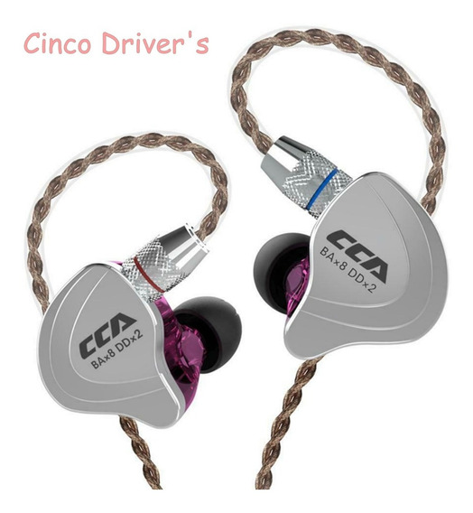 Fone In Ear Cca C10 - Cinco Driver