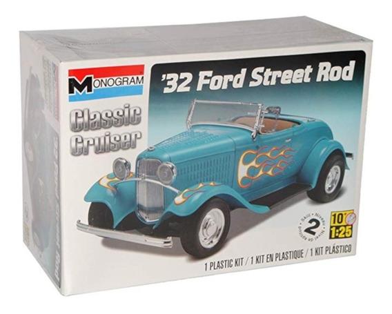Ford 32 Street Rod Plastimodelo 1/25 Revell 850882