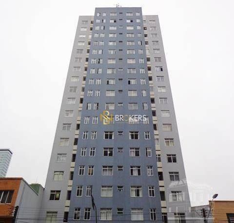 Imagem 1 de 9 de Studio Com 1 Dormitório Para Alugar, 50 M² Por R$ 850,00/mês - Centro - Curitiba/pr - St0088