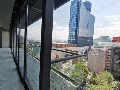 Imagen 1 de 5 de Renta De Oficina De Lujo Insurgentes Sur, Frente A Torre Wtc