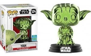 Funko Pop! Star Wars Yoda Chrome - Funko Pop
