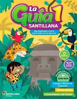 Imagen 1 de 1 de Paquete La Guía Santillana 1 De Primaria
