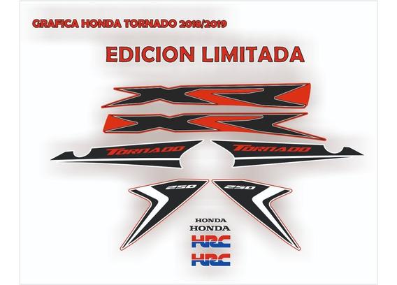 Kit Gráfica Honda Tornado 2018-2019 Edición Limitada
