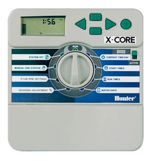 Programador De Riego Hunter Automatico Xcore 4 Estaciones