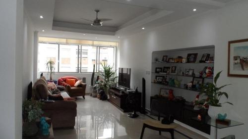 Apartamento Com 3 Dormitórios À Venda, 154 M² Por R$ 790.000,00 - Gonzaga - Santos/sp - Ap4712