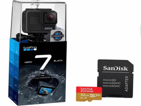 Câmera Digital Gopro Hero 7 Black 4k Wi-fi+sd 32 Gb