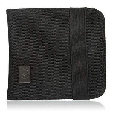 Carteira Em Nylon Preta Ta 4.0 Bi-fold Wallet Victorinox