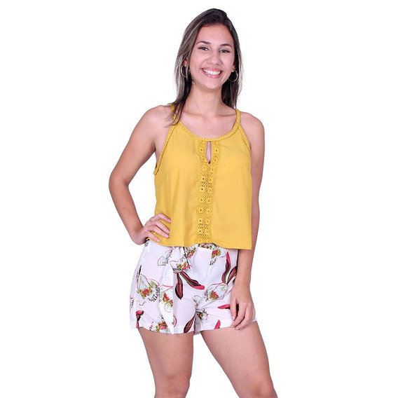 Blusa Alcinha Jolie 171152 - Asya Fashion