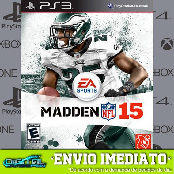 Madden Nfl 15 Ps3 Psn Game Digital Envio Agora.