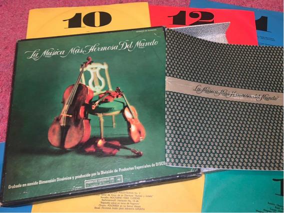 Álbum Discos De Vinilo La Música Más Hermosa Del Mundo