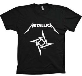 Camisas Bandas Rock Metal - Metallica - 100% Algodão!!