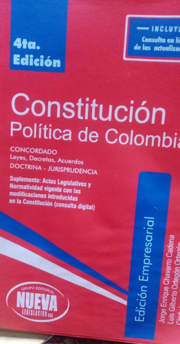 Constitución Política De Colombia 2020