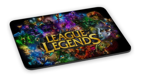 Mousepad Lol League Of Legends Jogos Gamer Mouse Pad