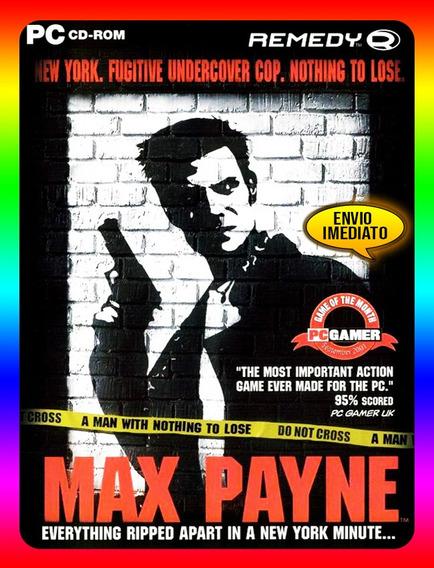 Max Payne 2 Pc - Steam Key (envio Já)