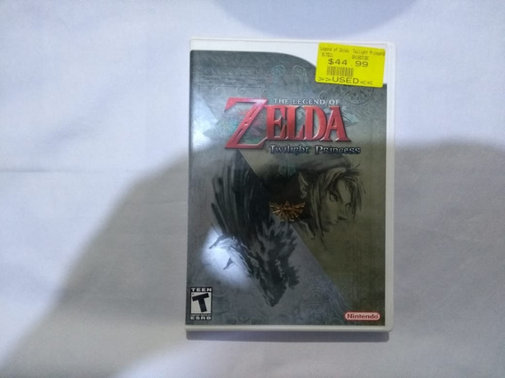 The Legend Of Zelda Twilight Princess Original - Wii