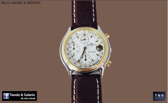 Reloj Automático Baume & Mercier De Oro De 18k (inv 1383)