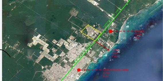 Terreno En Venta Precio De Oportunidad El Encuentro Playa Del Carmen P3130