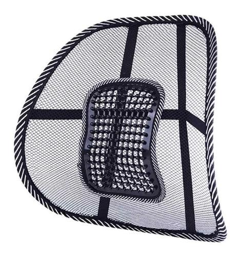 Imagen 1 de 7 de Soporte Respaldo Lumbar Ergonomico Para Auto Silla Oficina