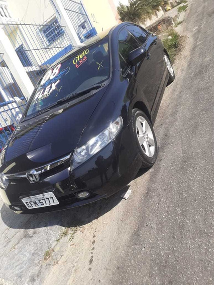 Honda Civic Lxs 1.8 Manual Flex Completo